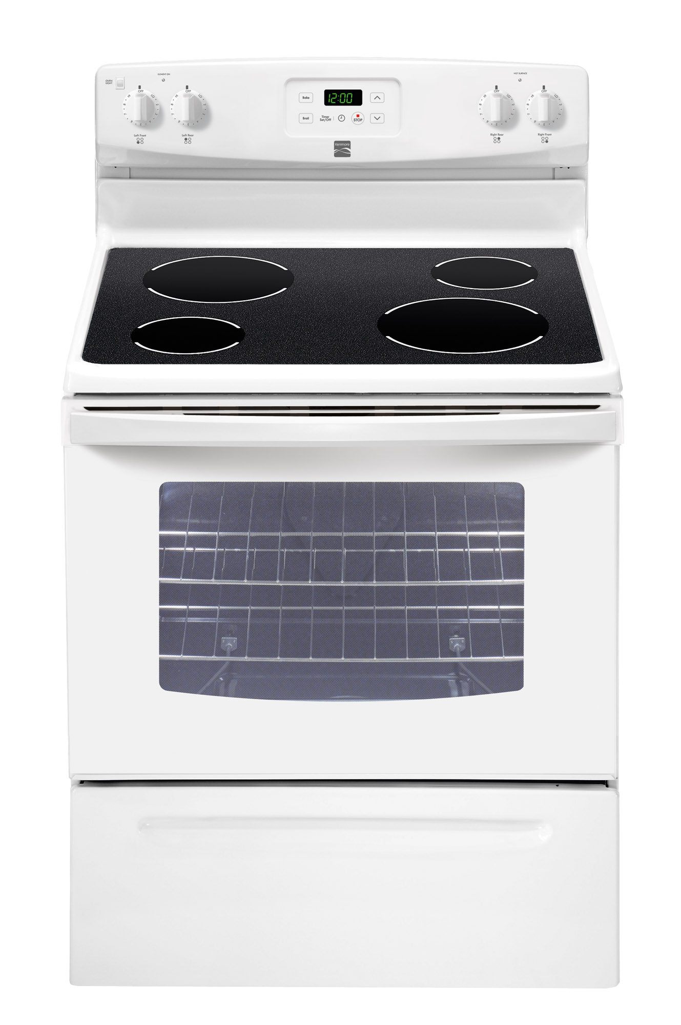 Kenmore Range/Stove/Oven Model 790.91312010 Parts
