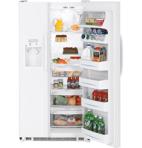 GE Refrigerator Model GSS25QGSCWW Parts