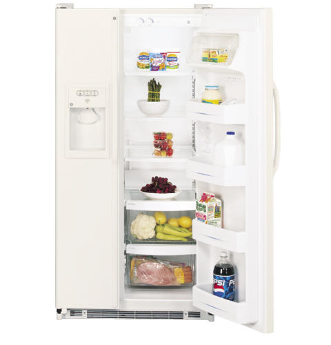 GE Refrigerator Model GSS25JEPECC Parts