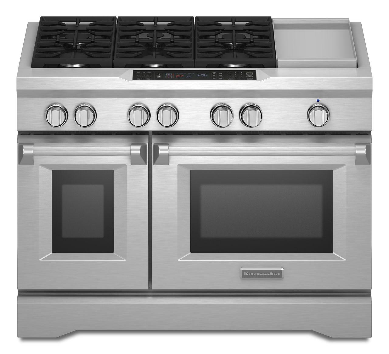 KitchenAid Range/Stove/Oven Model KDRS483VSS03 Parts