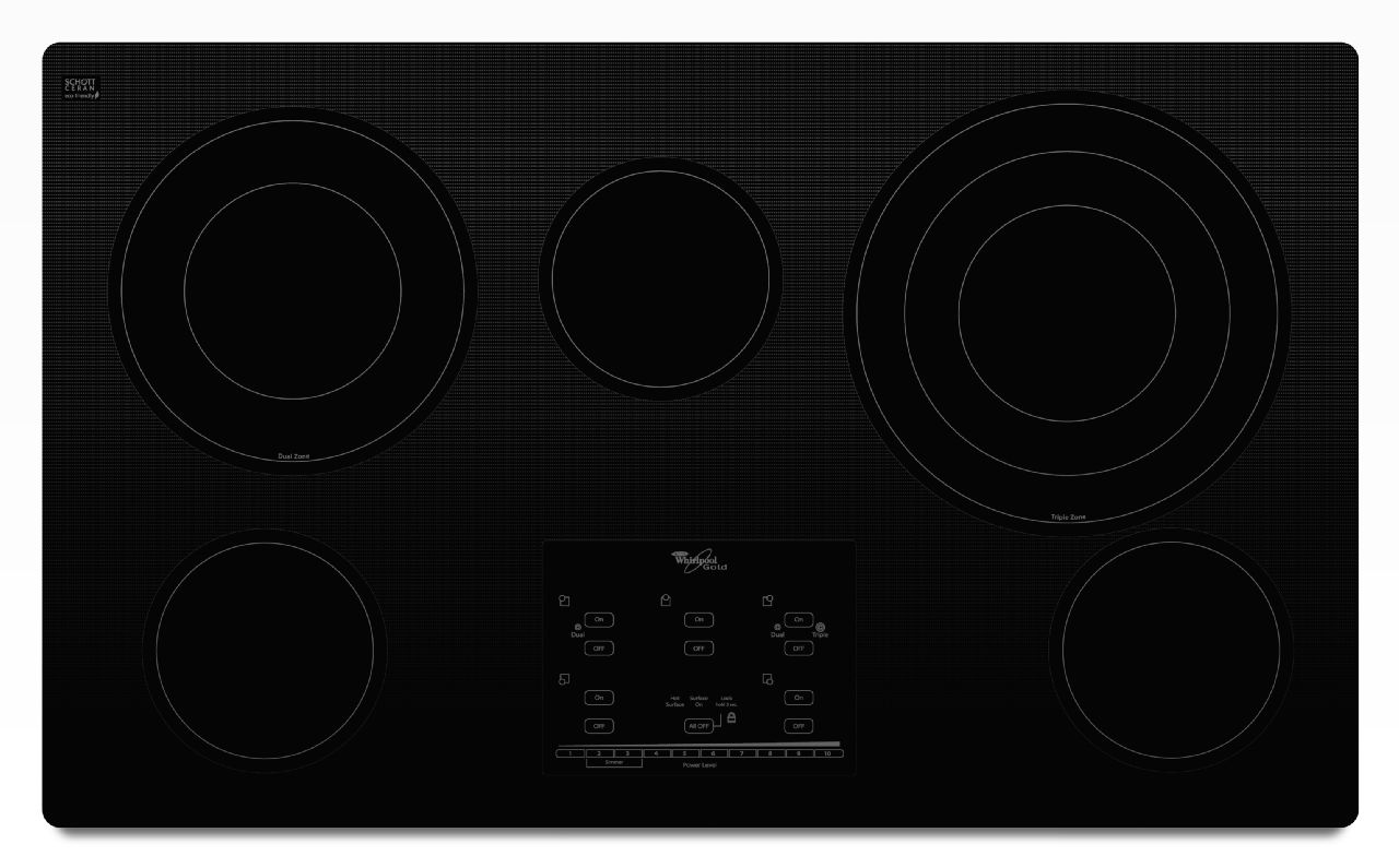 Whirlpool Range/Stove/Oven Model G9CE3675XB00 Parts