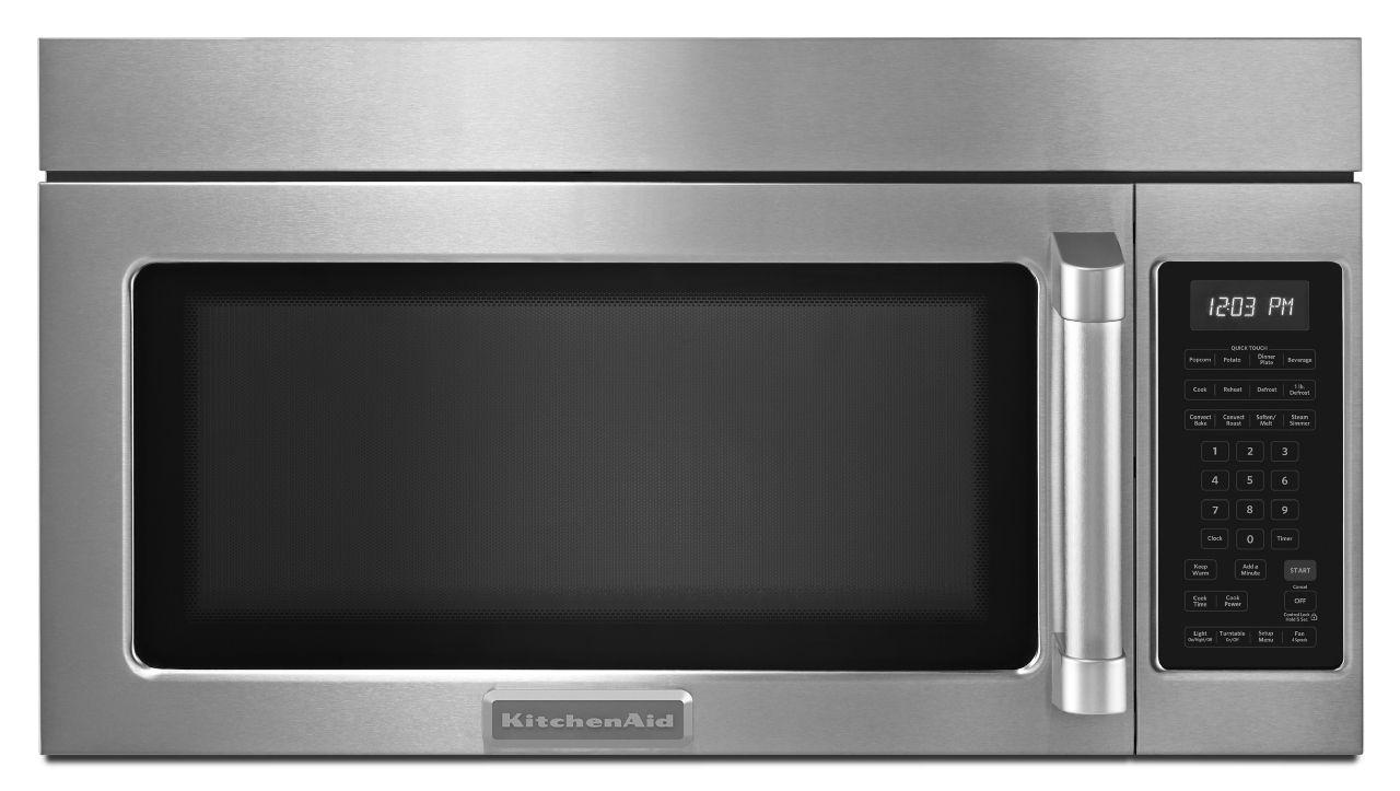 kitchenaid microwave: model khmc1857bsp0 parts & repair
